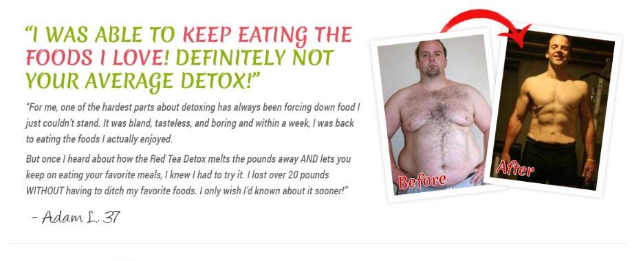 red tea detox testimonial